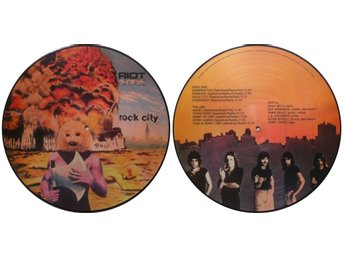 RIOT 'Rock City' vinyl picture-disc LP