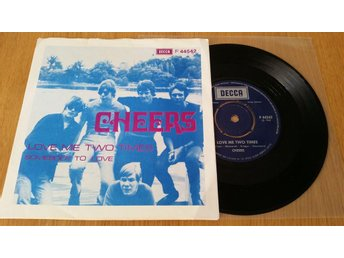 Cheers 1968 - Love Me Two Times - Somebody To Love RARE
