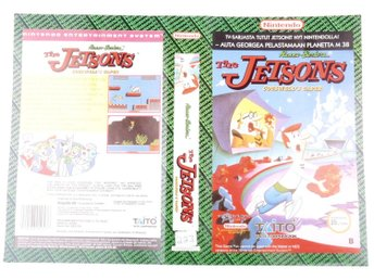 The Jetsons: Cogswell's Caper! (Original YAPON Rental Cover Paper) -