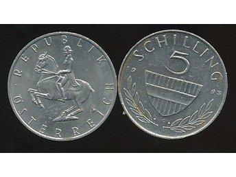 Austria 5 Shilling 1993 - Västra Frölunda - Austria 5 Shilling 1993 - Västra Frölunda