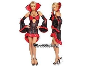 sexiga vampyr kläder