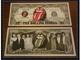 "50TH ANNIVERSARY OF THE ROLLING STONES ""SAMLARSEDEL"""