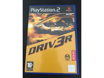 Driver - Play Station 2 - PS2 - Spel
