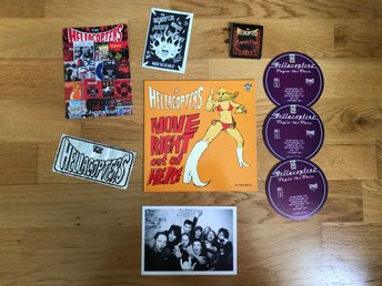 "The Hellacopters - Move right out of here 7"" plus megarare promostuff!"