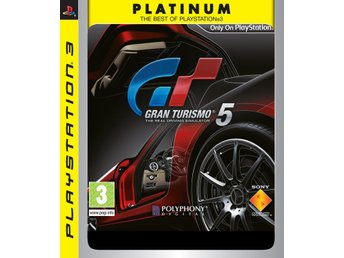 Gran Turismo 5 - Platinum - Playstation 3