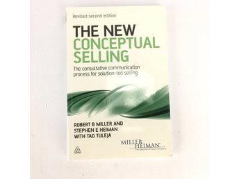 The new conceptual selling Miller Heiman ISBN 9780749462918 på engelska