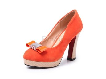 Damsko Pumps Chainingyee party round toe orange Size 38