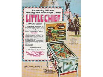 Original flyer Williams LITTLE CHIEF
