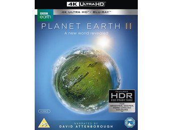 PLANET EARTH 2 - 4K Ultra HD + Blu-Ray - Ny + Inplastad