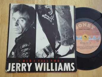 JERRY WILLIAMS - Did I tell you Sonet -88  singel