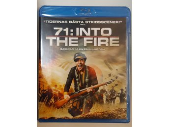 Blu-ray 71 Into The Fire Svensk text INPLASTAD