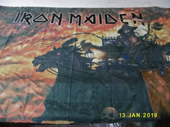 IRON MAIDEN tygflagga Death of the Road + Reaggeflagga - Freedom i tyg