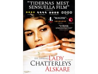 Lady Chatterleys älskare (DVD)