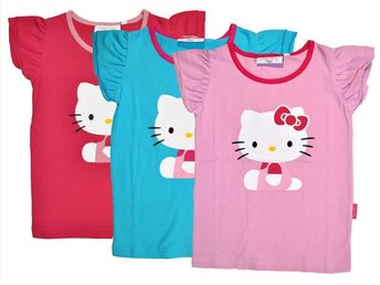Hello Kitty t-shirt turkos 86/92