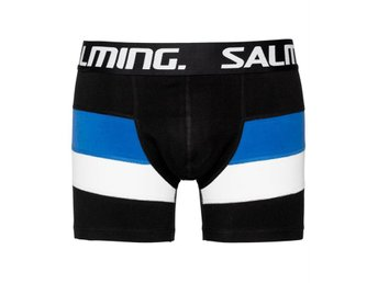 Salming Puffin, Long Boxer Black striped (S)
