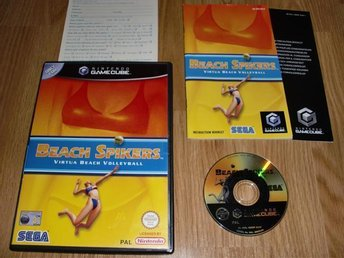 GameCube: Beach Spikers