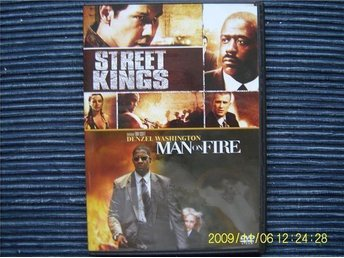DVD - Street kings & Man on fire (2-disc)