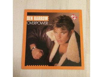 DEN HARROW - OVERPOWER, BEAT BOX. (LP)