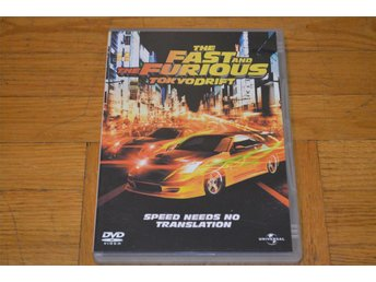 The Fast And The Furious Tokyo Drift ( Paul Walker Vin Diesel )  DVD