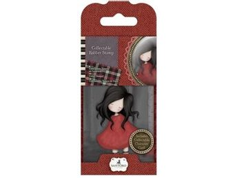 Gorjuss Collectable Mini Rubber Stamps - Poppy Wood