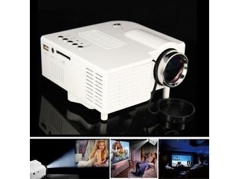 Mini UC28 HDMI Micro AV LED Digital Video Game Projector Multimedia player White