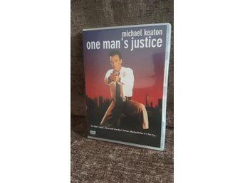 One man's justice (Michael Keaton) DVD - Luleå - One man's justice (Michael Keaton) DVD - Luleå