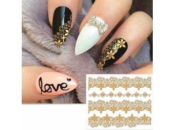 klistermärken till naglar