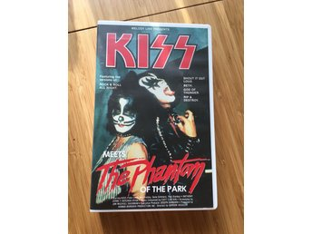 Kiss  Meets the Phantom of the Park - VHS