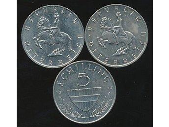 Austria 5 Shilling 1995 - Västra Frölunda - Austria 5 Shilling 1995 - Västra Frölunda