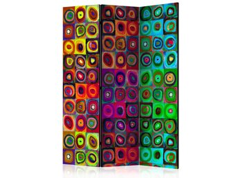 Rumsavdelare - Colorful Abstract Art  Room Dividers 135x172