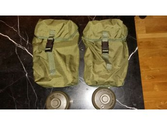 General purpose pouches + gasmask filters