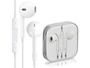 Apple EarPods med Fjärrkontroll   Mikrofon - O.. (340517268) ᐈ Köp ... d7776091b4daa