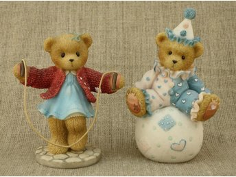 2 ST CHERISHED TEDDIES WALLY 1995, MELINDA 1999 FRÅN ENESCO