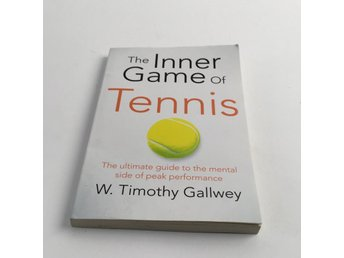 Bok, The inner game of tennis, Vit/Flerfärgad