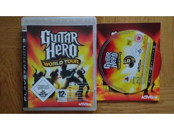 PlayStation 3/PS3: Guitar Hero World Tour (kräver gitarr)