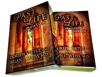 Past life Oracle Cards av Doreen Virtue - NY INPLASTAD. Tarot New Age.