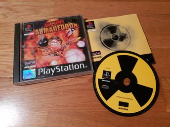 WORMS ARMAGEDDON PS1 BEG