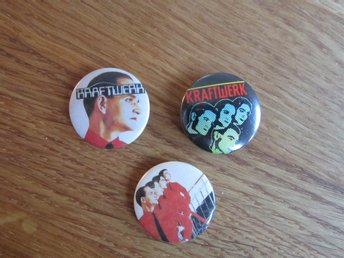 Kraftwerk pins-badge-nål