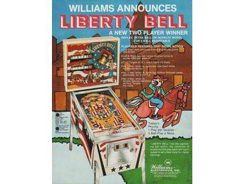 Original flyer Williams LIBERTY BELL