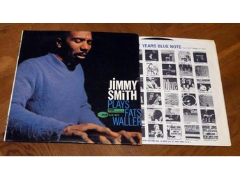 JIMMY SMITH Plays Fats Waller US BLUE NOTE Hammond Jazz 1963