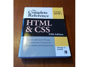 HTML & CSS: The Complete Reference Fifth Edition Powell ISBN 9780071496292