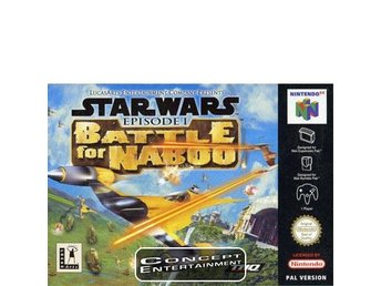 STAR WARS - EPISODE 1 BATTLE FOR NABOO till Nintendo 64, N64