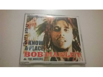 Bob Marley, I know a place, CD, promo