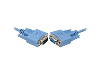 DB9 6 ft cable M-F (RS232) 1,8 m