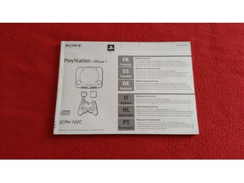 BASENHET MANUAL till Sony Playstation 1 PSone