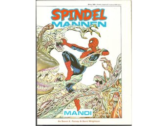 Spindelmannen Årsalbum 1988 VF- - Vikingstad - Spindelmannen Årsalbum 1988 VF- - Vikingstad
