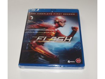 The Flash Säsong 1 // Blu-ray // INPLASTAD