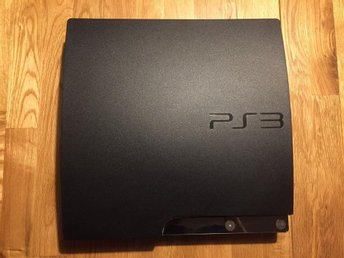 Playstation 3 Slim 320GB + Handkontroll + FIFA14 och NHL12
