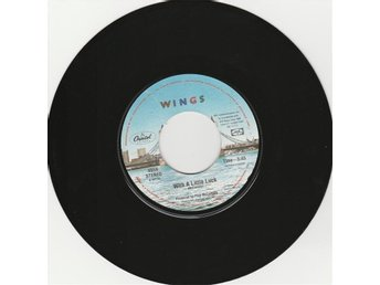 45 Single Paul McCartney Wings With A Little Luck US Beatles