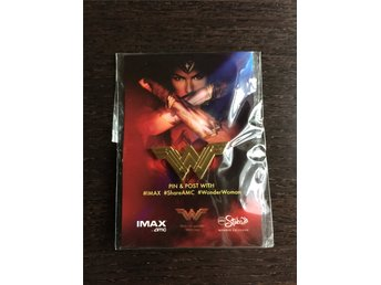 Exclusive Wonder Woman promo pin